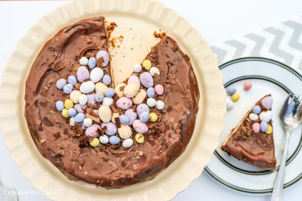 easter baked chocolate cheese cake recipe primula 2