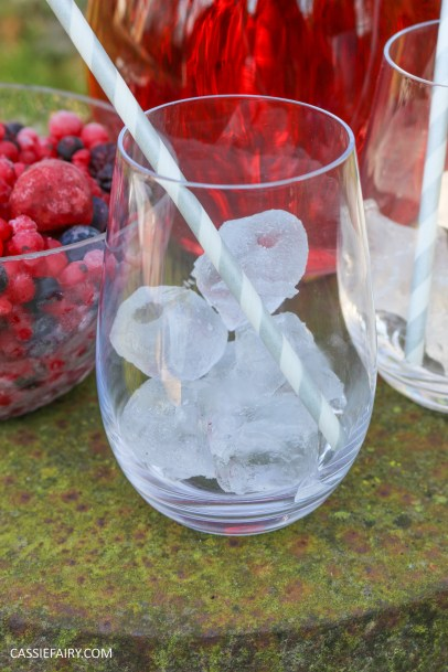 summer fruit punch recipe cranberry raspberry fizz for easter-3