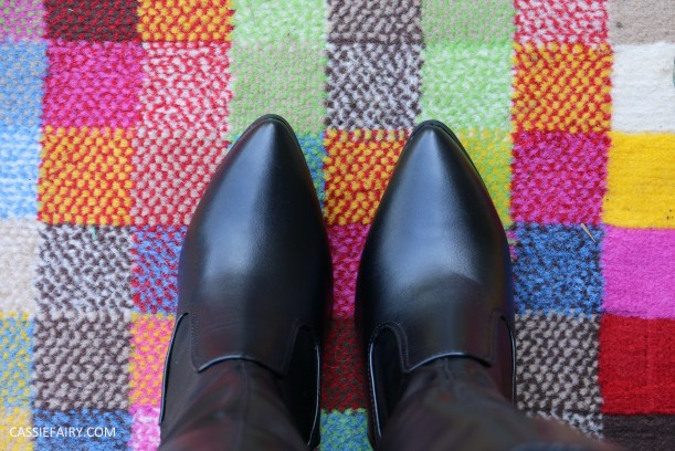 tuesday shoesday knee high boots v ankle boots blog review-10