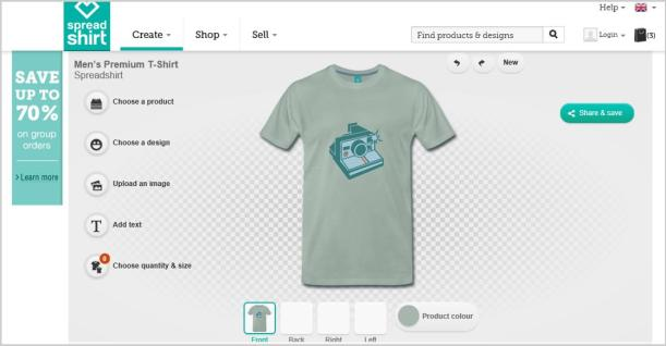 spreadshirt design your own t shirt diy step by step camera