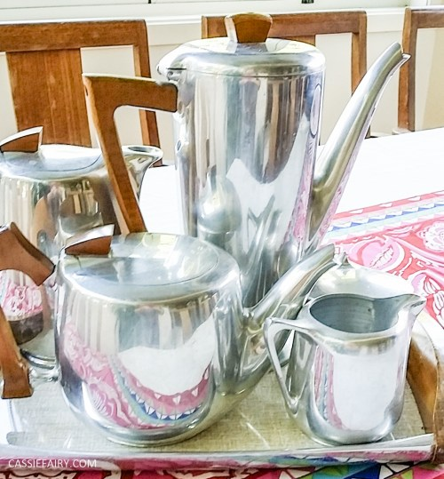 Picquot ware coffee pot percolator magnalium-2