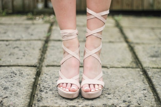 eltoria pink tie up platform shoes river island ukba16 blog awards