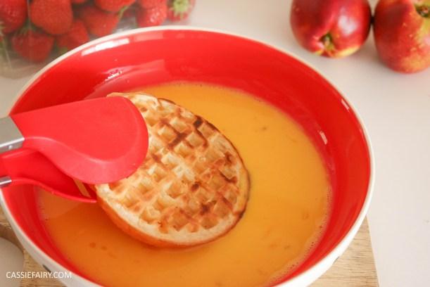 birds eye breakfast waffles eggy bread french toast fruit breakfast brunch recipe-4
