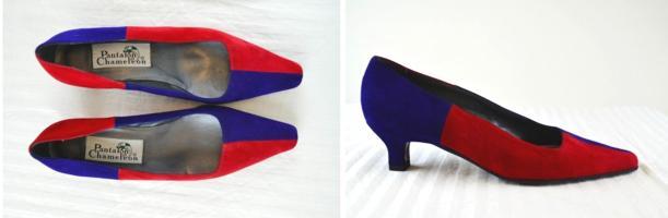 colour block retro vintage 80s 1980s court shoes footwear tuesday shoesday