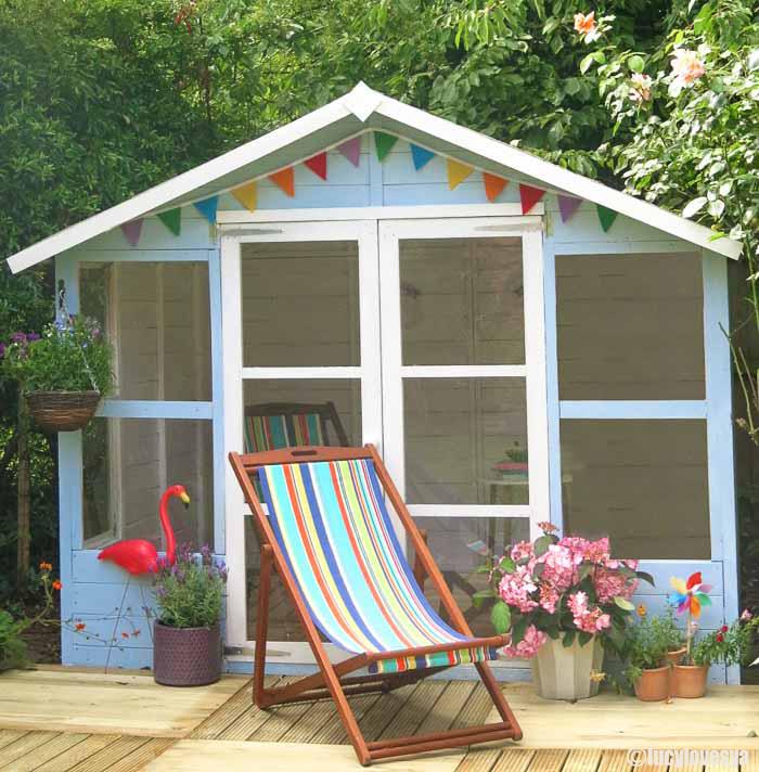 Garden Inspiration – Beach Hut Sheds