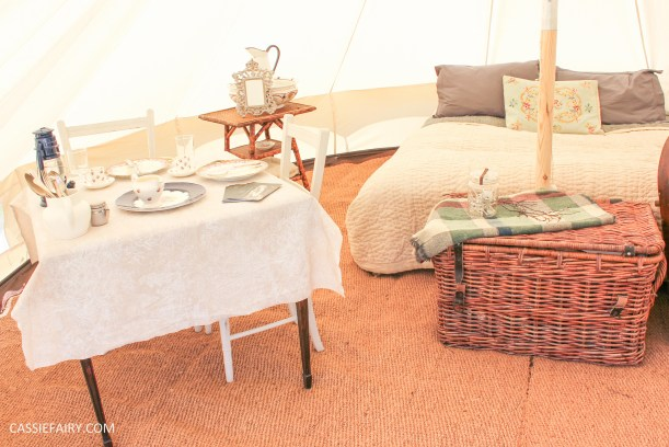 my dream bell tent canvas camping glamping