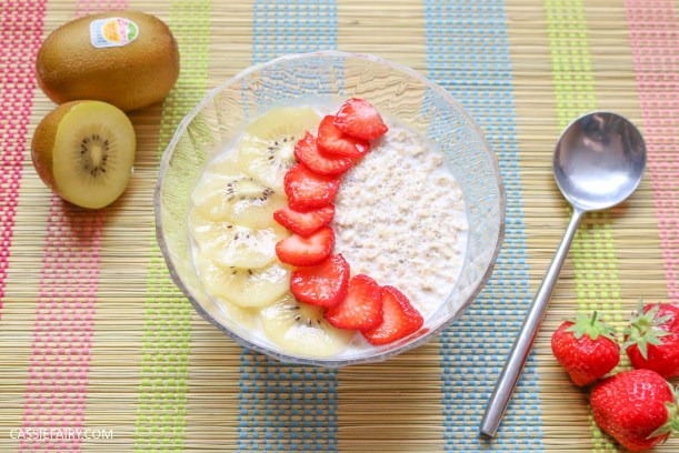 sunday brunch breakfast soasked oats fruit seeds healthy recipe-3