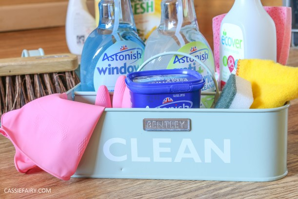 thrifty low cost summer cleaning hacks kitchen bathroom diy cruelty free-6