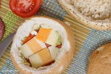 layered picnic rolls recipe tex mex spicy sandwich filling friyay-3