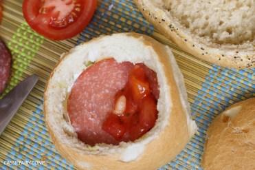 layered picnic rolls recipe tex mex spicy sandwich filling friyay-4