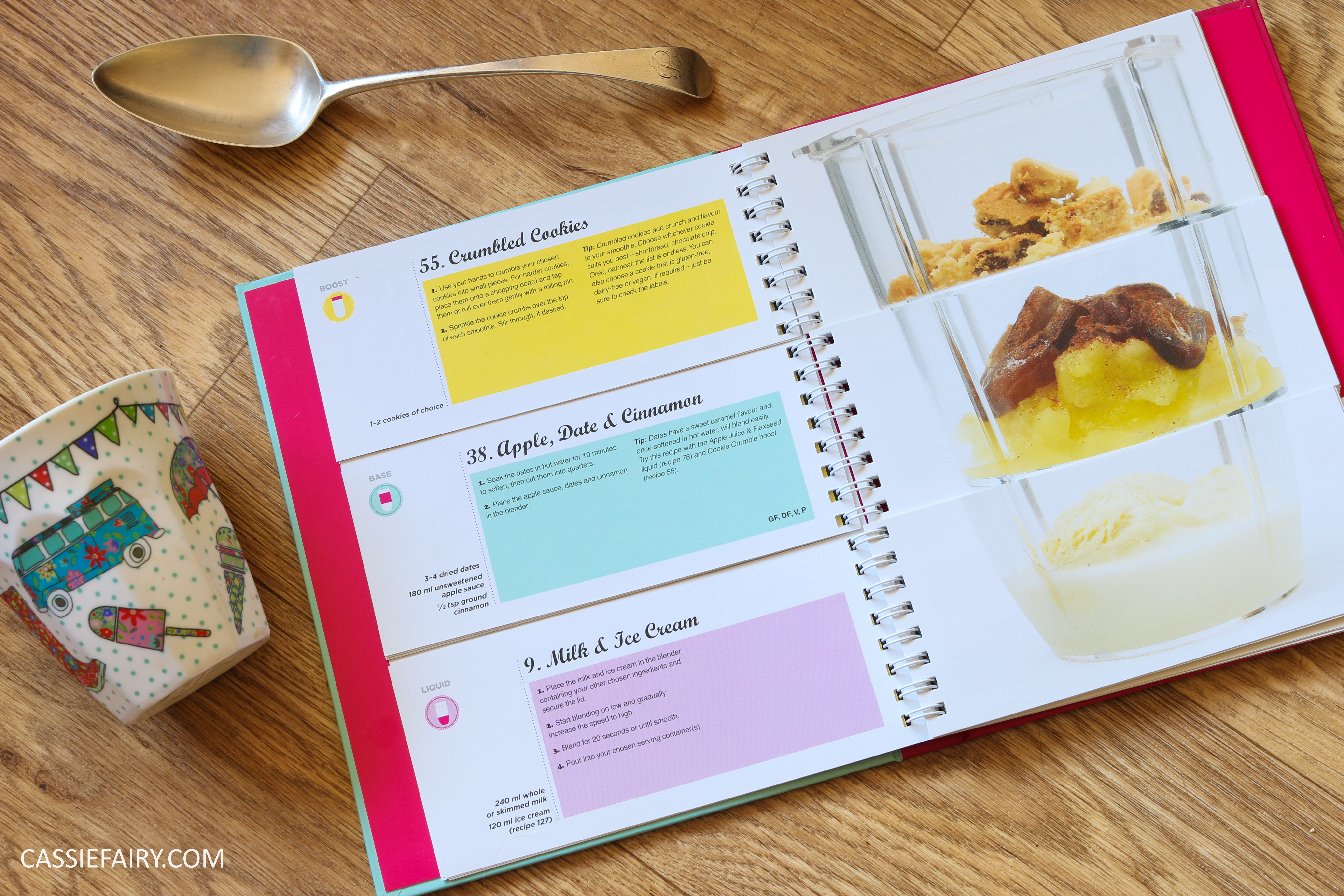 pieday friday build your own smoothie recipe book review my