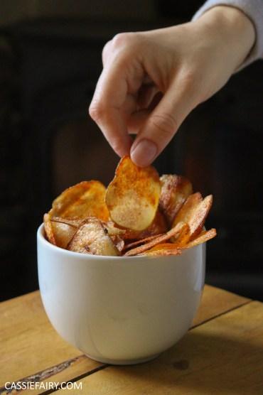 Healthy Microwave Crisps