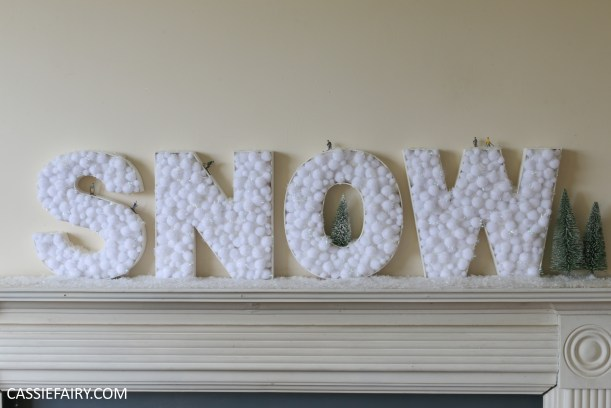 cassiefairy-thrifty-christmas-snow-sign-project-diy-mantlepiece-christmas-decoration-festive-decor-18