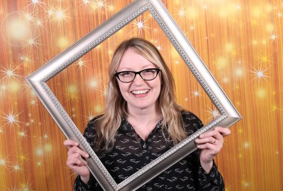 Wedding party photobooth photo props booth frames easy diy project-3