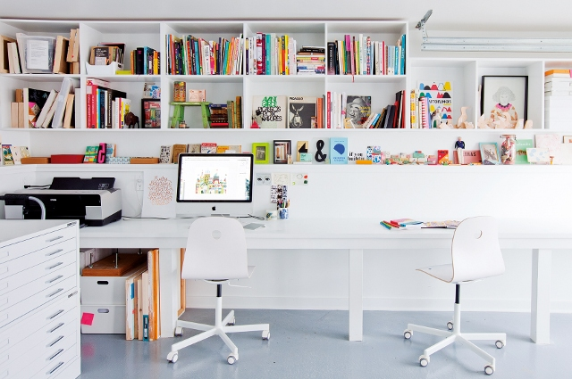 home office studio. Inspiration For A Bright \u0026 Airy Home Office With STUDIO + Win Copy! Studio T