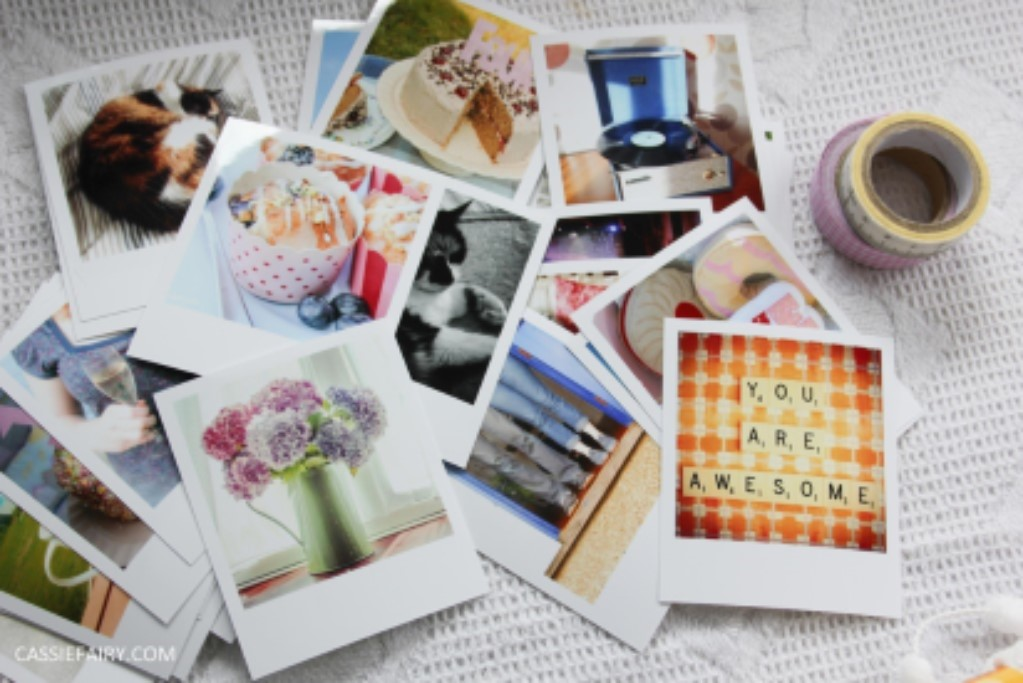 Fun decorating projects using your own photos