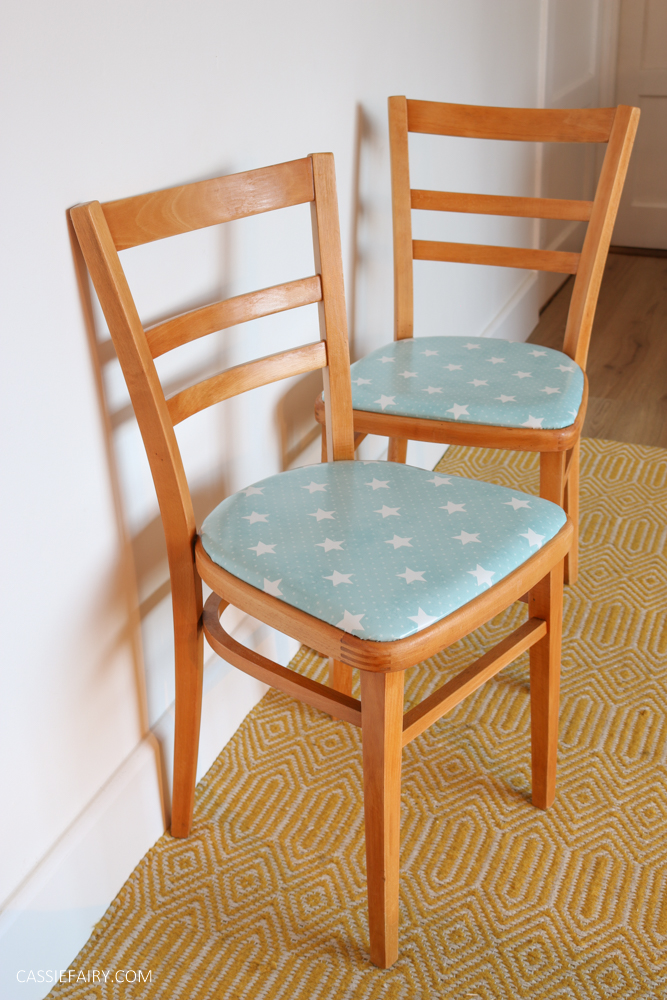 DIY furniture makeover: How to give vintage kitchen chairs ...