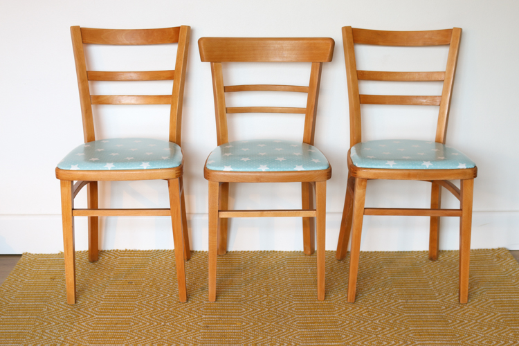 DIY furniture makeover: How to give vintage kitchen chairs a new lease of life