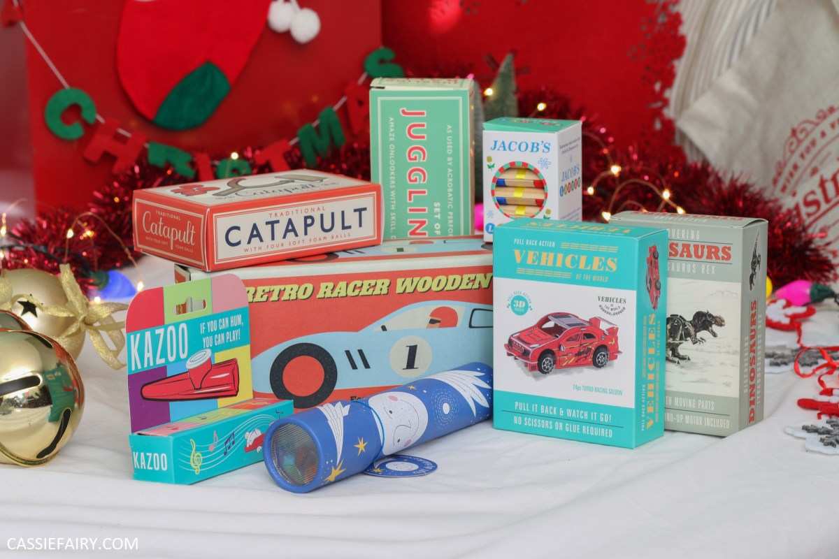 How to cut the cost of a Christmas stocking in half + win these retro stocking fillers