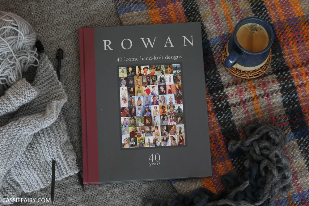 How to knit a brocade jumper + win a copy of Rowan: 40 Years, 40 Iconic Hand-Knit Designs