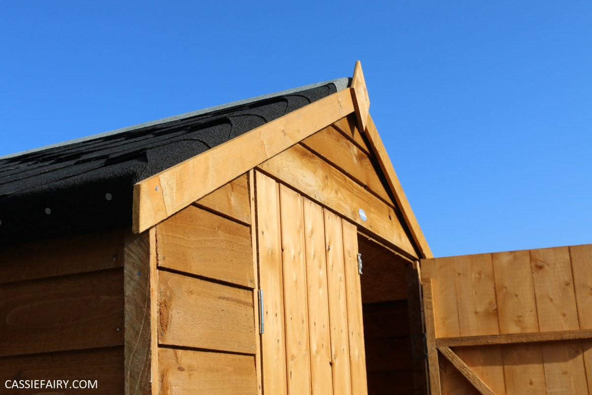 How to 'pimp' a low-cost shed to create smart storage in your garden