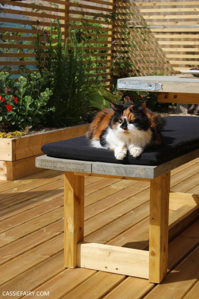 Diy Scaffold Board Garden Benches Project