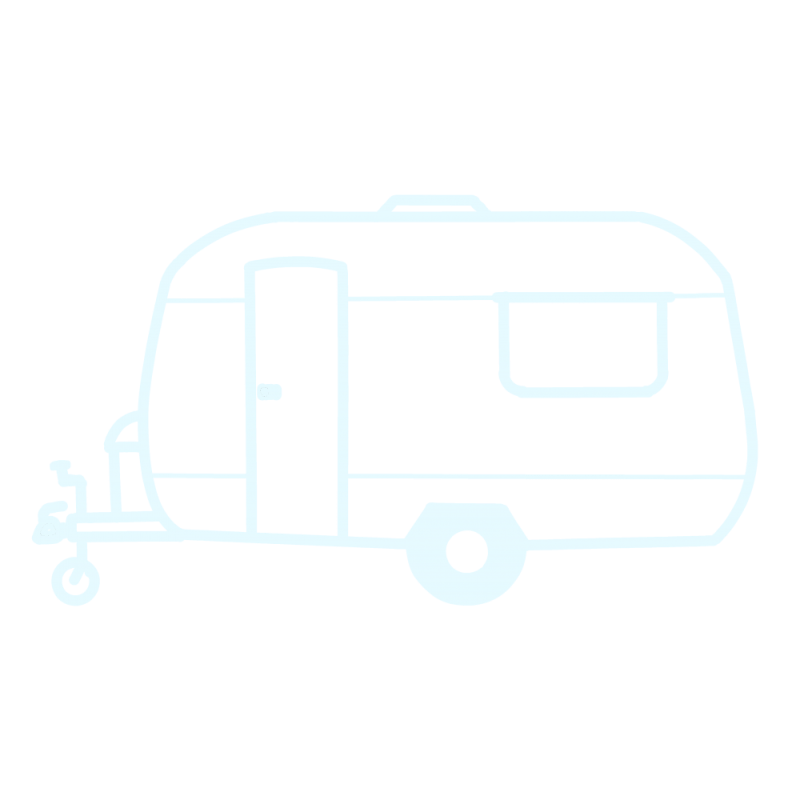 Transparent Caravan Cassiefairy Outline #E6FAFF