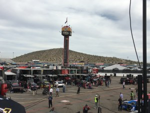 The energy is starting to grow at Phoenix International Raceway