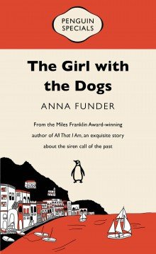 the girl with the dogs
