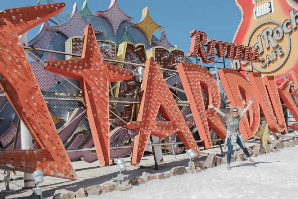 Stardust at the Neon Museum