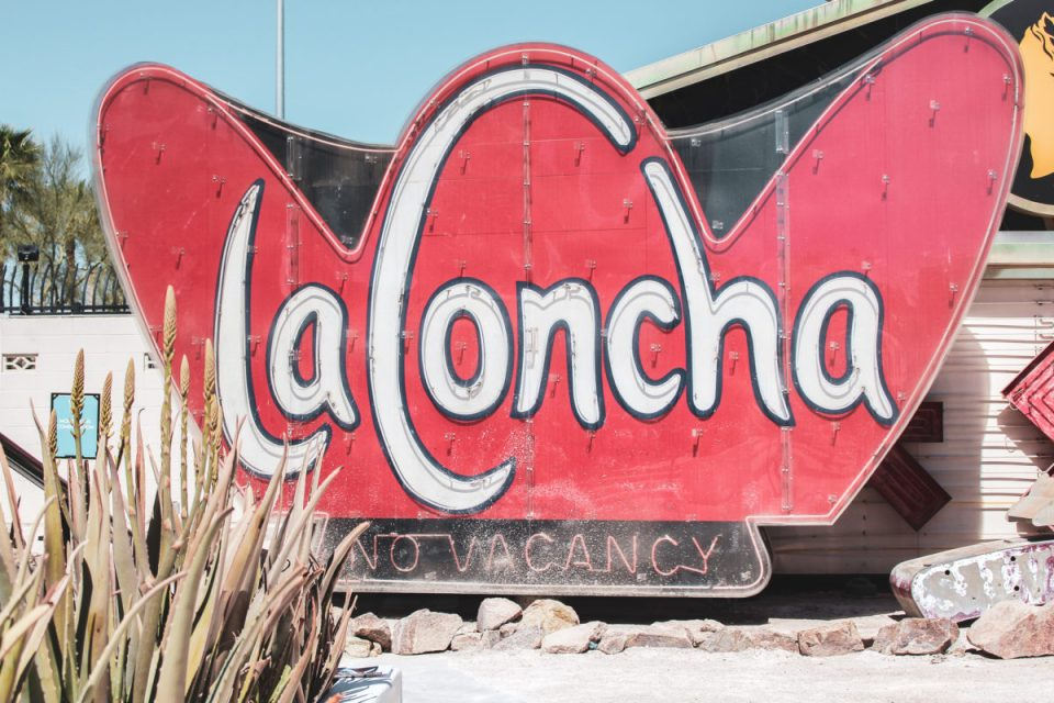 La Concha Motel at the Neon Museum Las Vegas