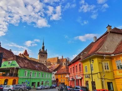 Beautiful Sighisoara, Transylvania, Romania