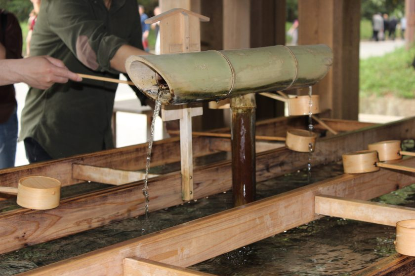 meiji jingu temple harajuku tokyo japan