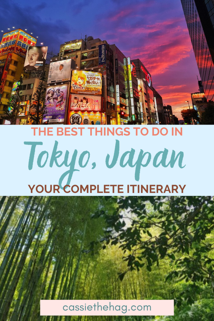 3 or 4 day Tokyo Itinerary - Japan Travel Guides