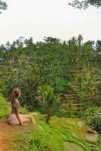 Solo travel in Bali ubud indonesia