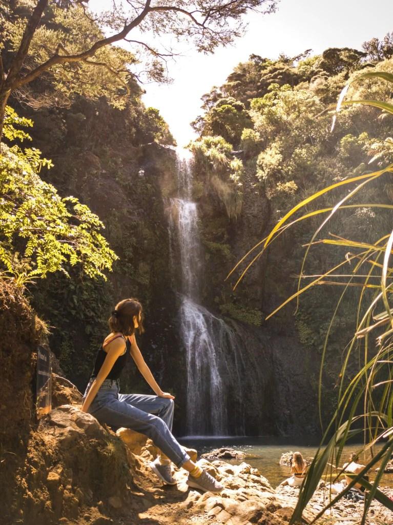 Things to do in Piha - walk Kite Kite Falls