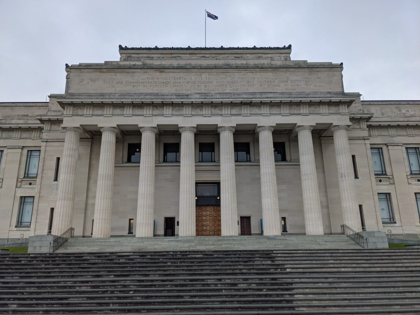 the aesthetic Auckland Domain Museum