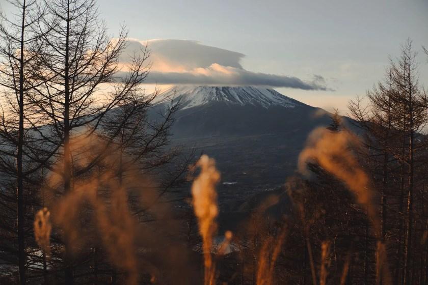 landscape of mount fuji