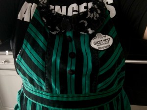 disney apron haunted mansion ghost host