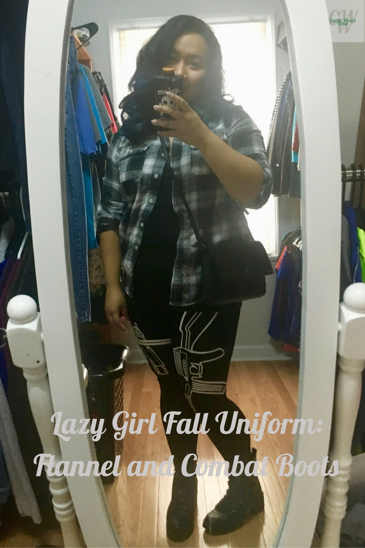 By now you probably know how much I love fall. While I love fall fashion, I also love my lazy girl fall uniform. Check out how I rock my flannels and boots!