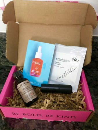 petit vour, vegan beauty box, october box, review, cassiewearswhat.com, cassie wears what