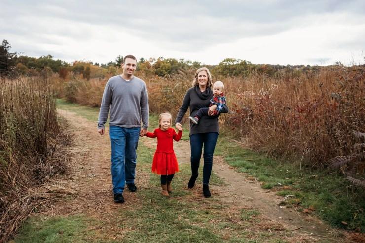 family photos walking