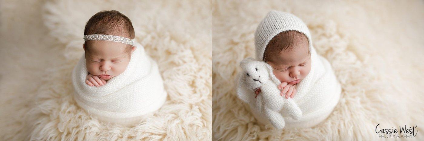 baby girl swaddled newborn photos