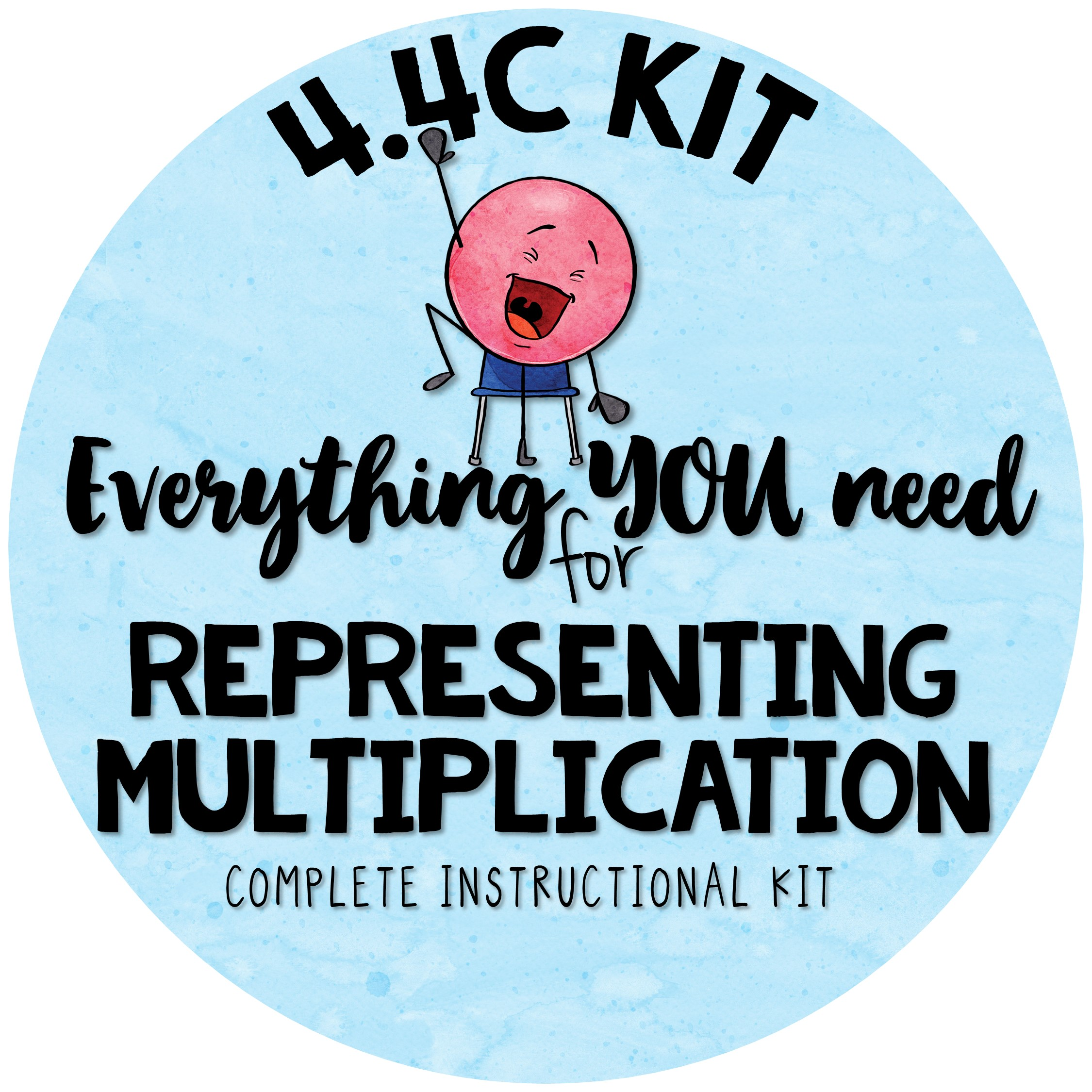 4 4 C Instructional Kit Representing Multiplication With