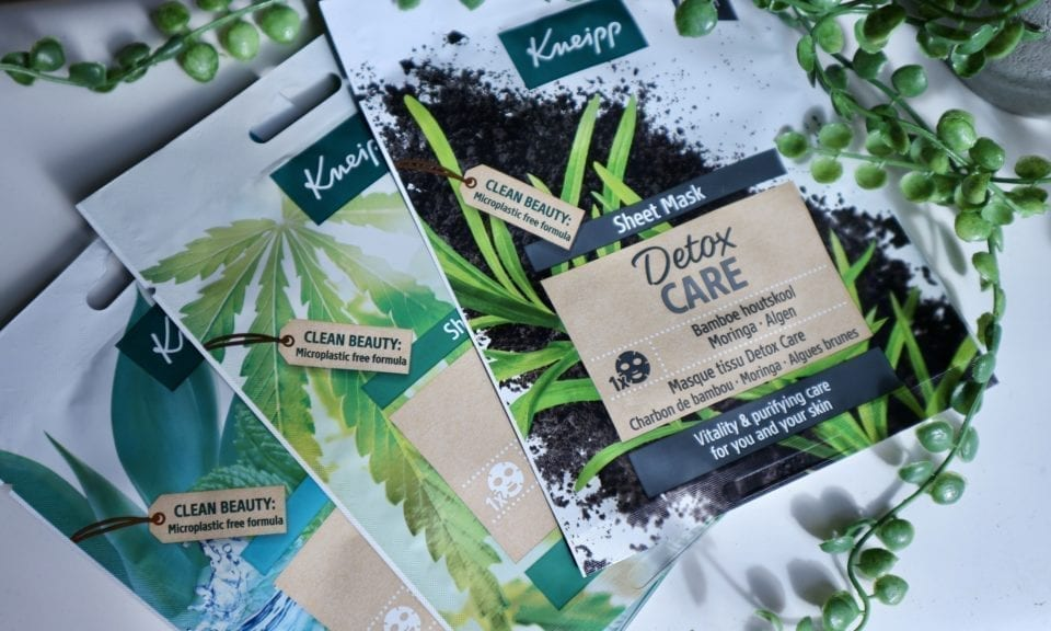 Kneipp Sheet Masks Review kneipp detox care sheet masks