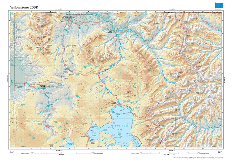 Atlas of Yellowstone InfoGraphics Lab