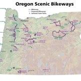 Oregon Scenic Bikeways Map Series, 2014.