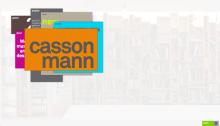 Casson Mann Website, Home Page