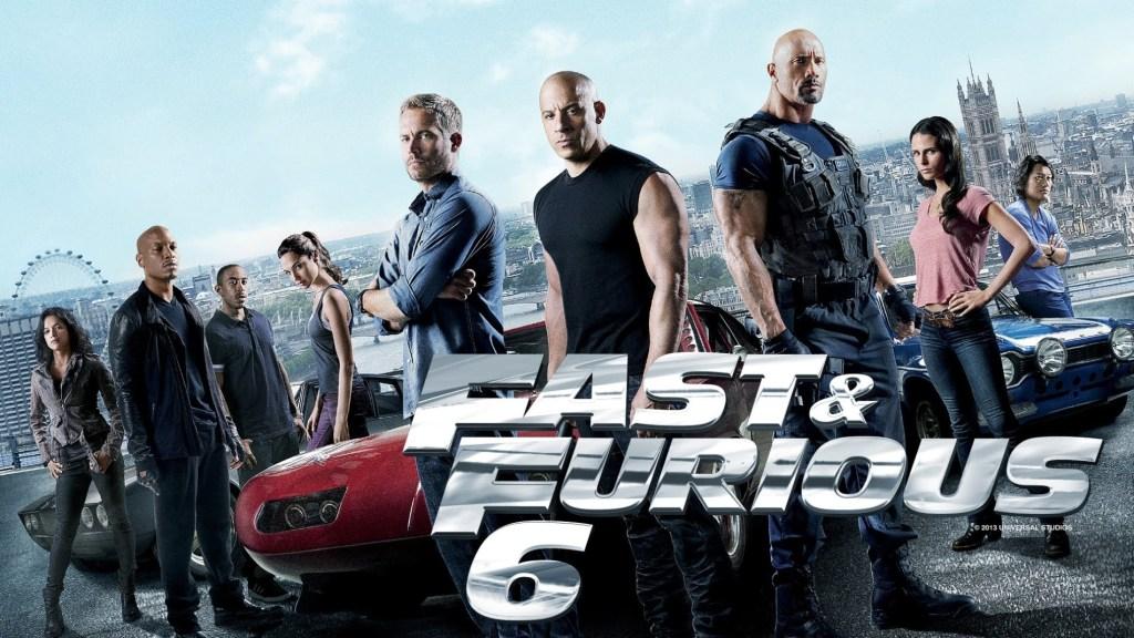 映画『ワイルド・スピード EURO MISSION/Fast & Furious 6』