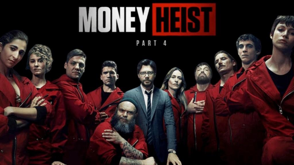 海外ドラマ『ペーパー・ハウス/Money Heist(La casa de papel)』シーズン4